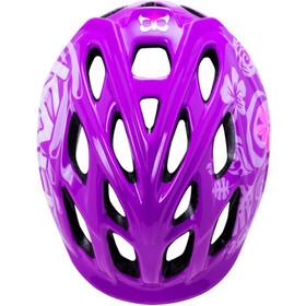Kali Chakra - Casco de bicicleta Niños - violeta
